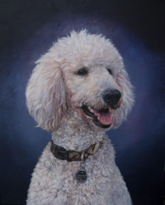 Portrait of Asher by Adele Jaunn,